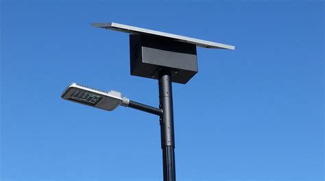 parking lot lights solar powered led lights greenshine