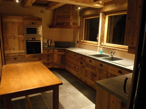 cuisine cholet maison chalet à le grand bornand aravis bornes chalet