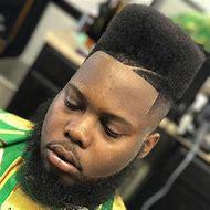 High Top Fade Haircut Black Men