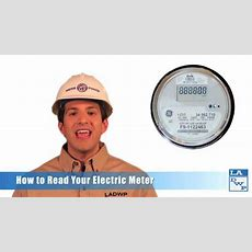 How To Read Your Electric Meter Youtube