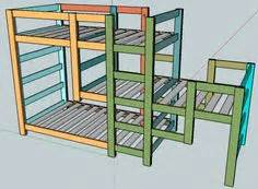 diy triple bunk beds woodworking projects plans