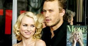 """Naomi Watts Opens Up About """"Beautiful"""" Romance With Heath ..."""