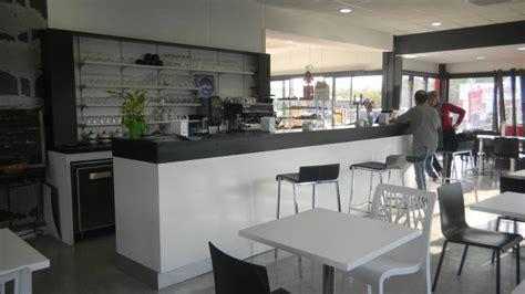 comptoir de bar moderne agencement boulangerie snack aranda