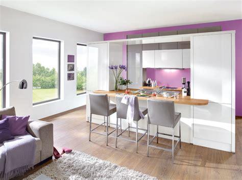idee deco salon avec cuisine ouverte maison parallele