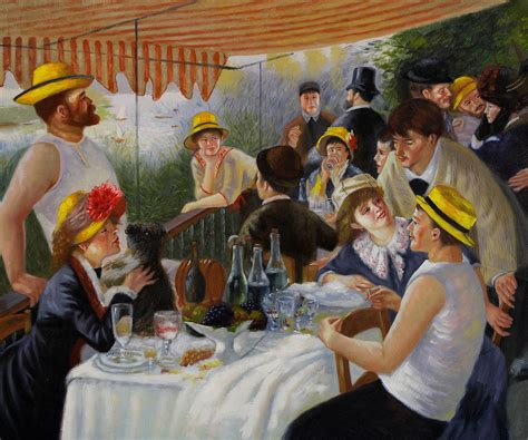 Synopsis Of Luncheon Of The Boating Party by Luncheon Of The Boating Party By Pierre Auguste Renoir