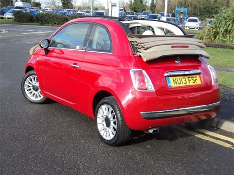 Fiat Cabrio by Fiat 500c Lounge Cabriolet For Sale Epsom Downs