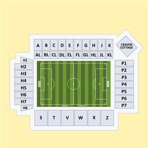 craven cottage seating plan buy fulham vs manchester united tickets at craven cottage