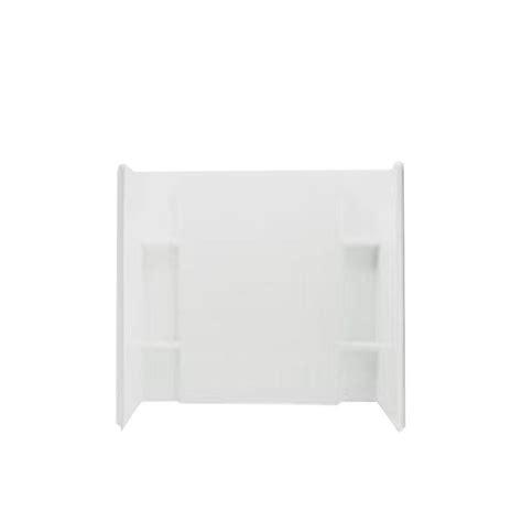 bathtub wall set sterling accord 36 in x 60 in x 55 875 in 3