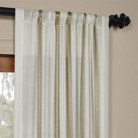 buy drapes buy antigua gold striped linen sheer curtain drapes
