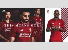 Liverpool reveal Premier League home kit for 201819