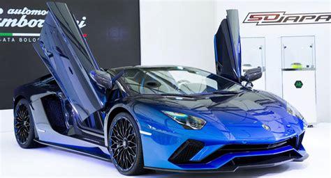 Lamborghini Makes Five Special Edition Aventador S