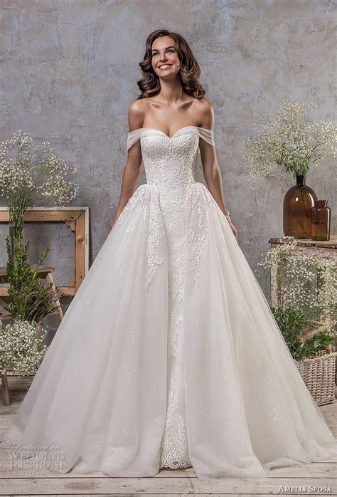 Amelia Sposa Fall 2018 Wedding Dresses Wedding Inspirasi