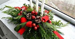 Make, This, Evergreen, Christmas, Centerpiece, Homeforchristmas