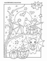 Halloween Coloring Witch Dreamlings Autumn Fun Whimsical Printable Fall Grundschule Ausmalbilder Edwina Namee Mc раскраски животными Colouring Cat Animal Adult sketch template
