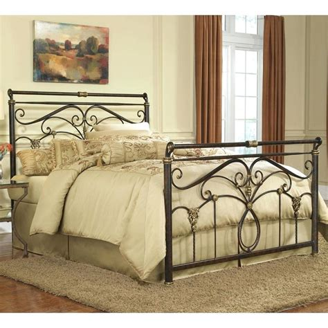 iron headboard image for upholstered wall