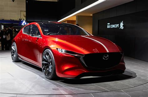 nouvelle mazda 3 next mazda 3 previewed with technology concept