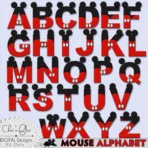 alfabeto do mickey mouse amo artesanato love crafts With mickey mouse clubhouse letter stencils