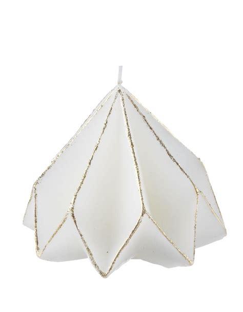 bougies point a la ligne bougie d 244 me origami point 224 la ligne 30 id 233 es pour dresser une table de f 234 te