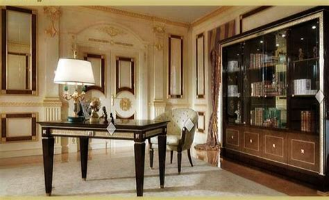 Neat And Elegant Looking Home Office