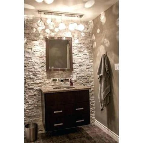 veneer wall in bathroom