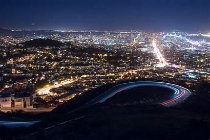 Francisco Peaks San Twin Bay Area Night