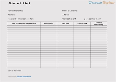 rent receipt templates  create rent receipt   type