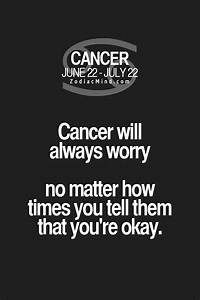 Best 25+ Cancer... Cancer Star Sign Quotes