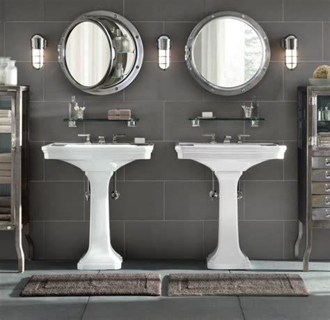 porthole style medicine cabinets from restoration hardware