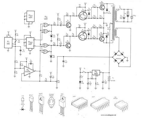 Watt Inverter Circuit Schematic
