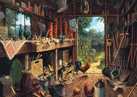 Potting Shed Ta Hours by Gibsons Jigsaw Puzzles The Potting Shed Jigsaw Puzzle At