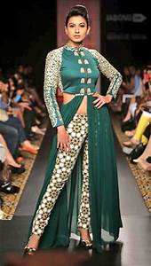 Indo Western Outfit Inspirations Dresses Gowns More