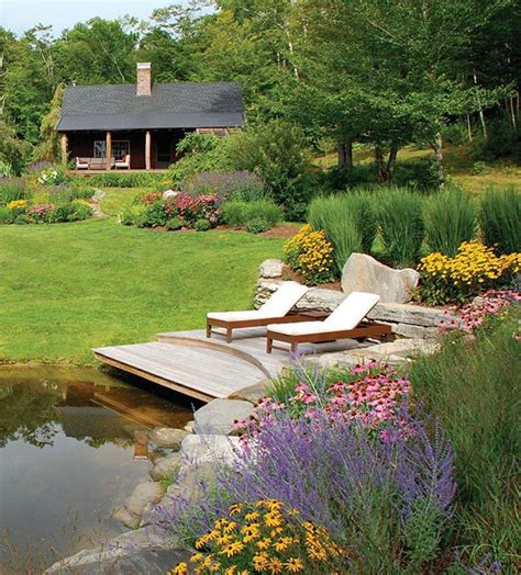 pond landscape design 15 pretty garden pond with deck design home design and interior