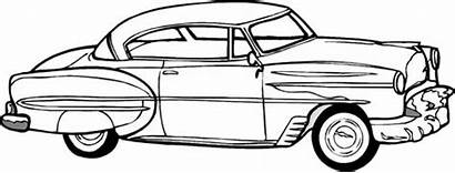 Coloring Pages Cars Printable Chevy Drawing Classic