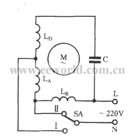 Single Phase Motor Winding Tap Connection Two Speed