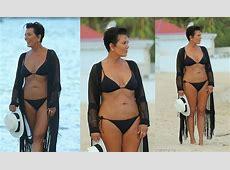 Kris Jenner Hot In Black Bikini YouTube