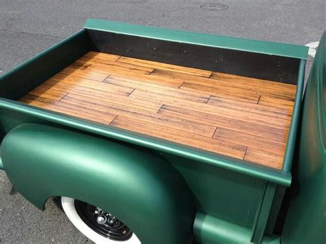 wooden truck bed custom wood bed 55 chevy truck ideas pinterest wood