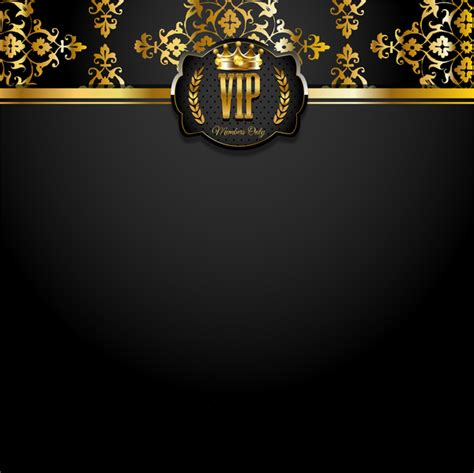 Vip Background Luxury Design Vectors 14