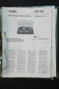 Saba Psp 910 Original Service Manual  Manual  Wiring Diagram