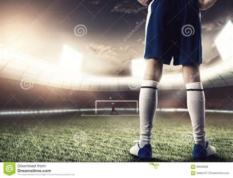 Football Player Stock Photo  Image 60948908