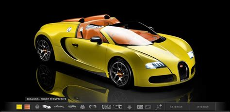 New Model Of Bugatti by Bugatti Launches New Configurator For Its Veyron Models