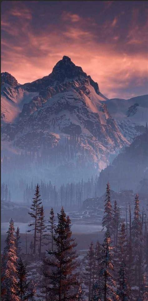 mountain view aesthetic wallpaper in 2020 landscape