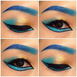 Egyptian eye makeup inspired by Michelle Phan. Make Up For ...