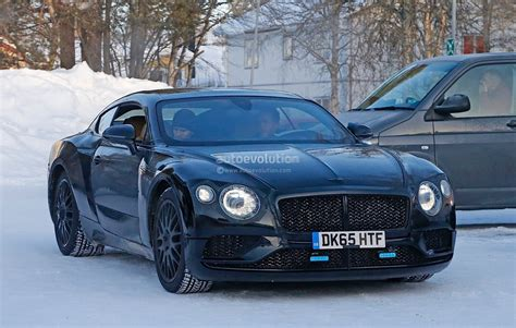 2018 Bentley Continental Gt Spied Again, Exp 10 Speed 6