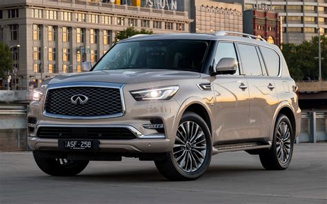 Infiniti Qx80 Wallpapers by 2018 Infiniti Qx80 Au Wallpapers And Hd Images Car Pixel