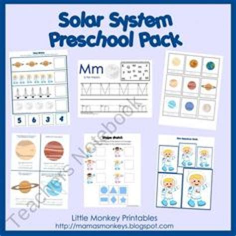 solar system for preschoolers lesson plans 1000 images about preschool space on space 400