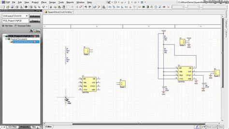 altium designer tutorial schematic capture and pcb layout 1of2