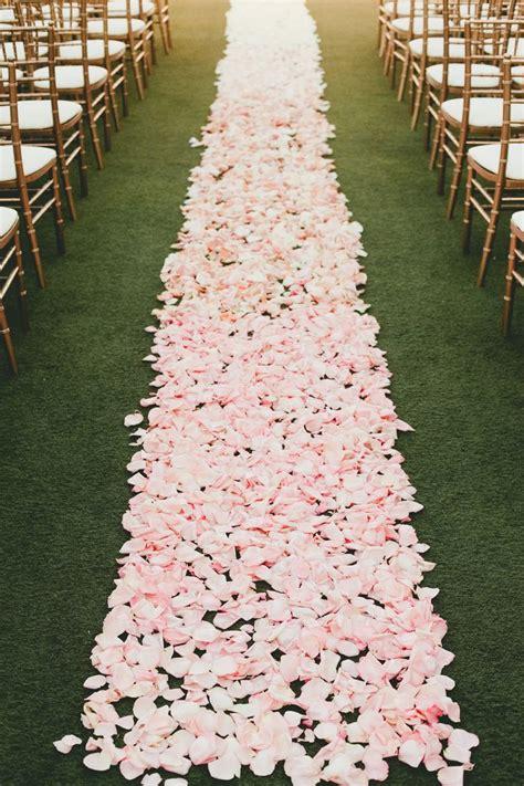 25 Best Ideas About Rose Petal Aisle On Pinterest