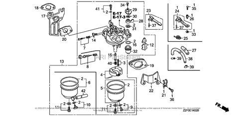 honda gx160 parts diagram carburetor honda auto wiring diagram