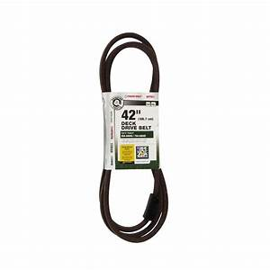 Mtd Genuine Factory Parts Deck Drive Belt For 42 In  Lawn