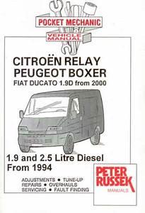 Haynes Reparasjonsh U00e5ndbok  Citroen Relay  Peugeot Boxer